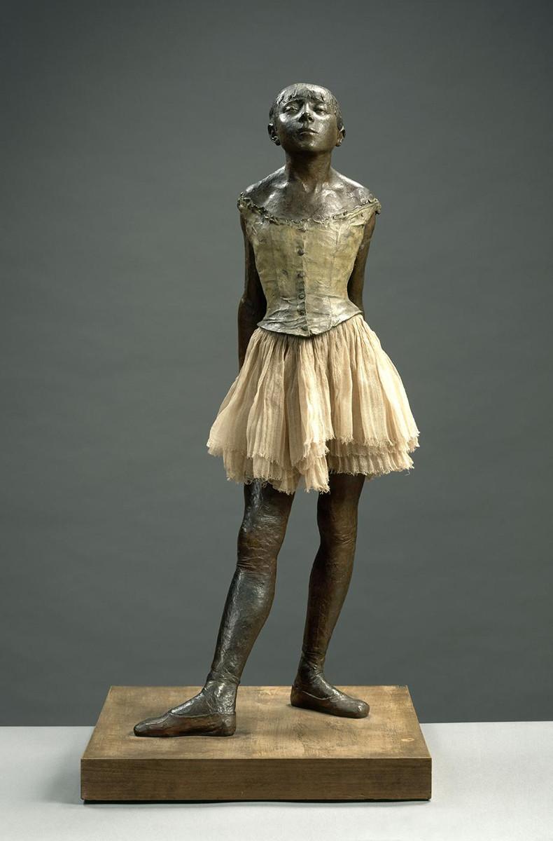 anca e la lombare nella danza Edgar Degas la petit danseuse arte e malattia manca nella danza